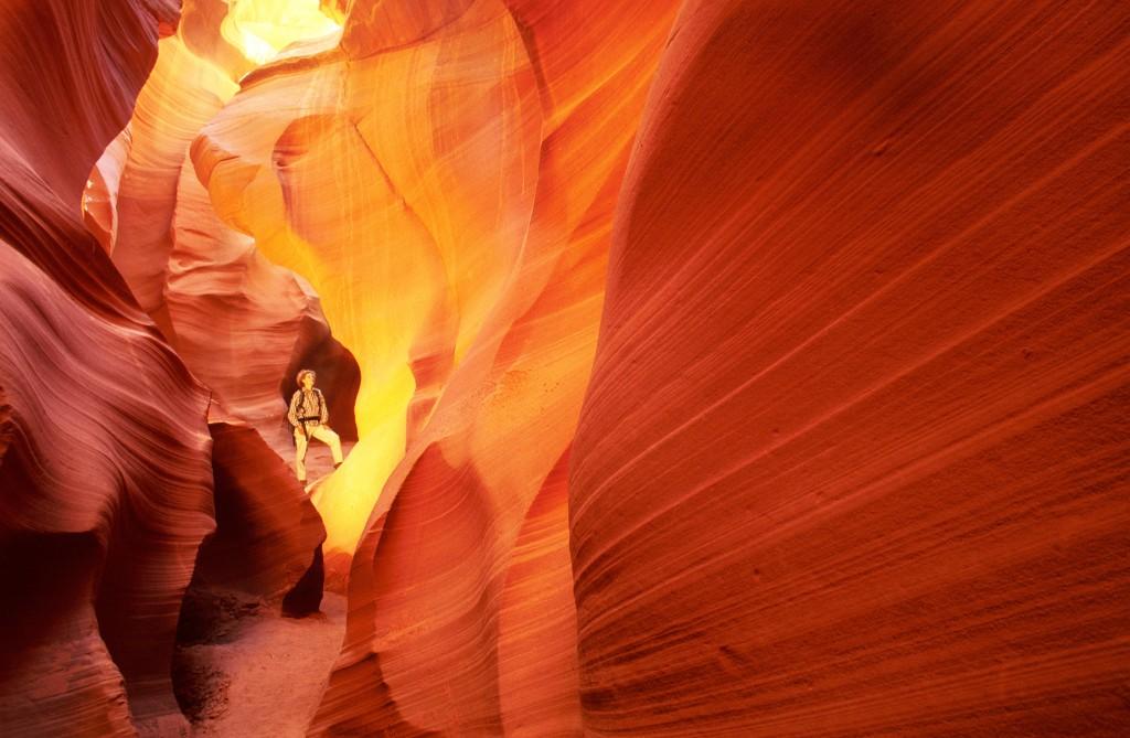 Antelope Canyon, Foto Abenteuer mit Christian Heeb